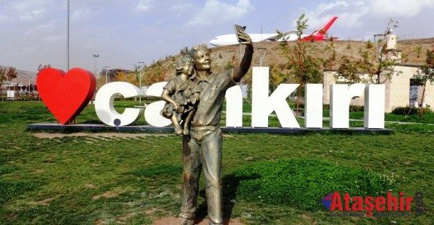 Çankırı'da Sokak Heykelleri Görücüye Çıktı