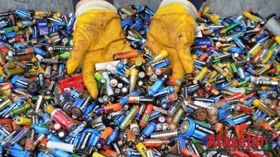 Doğaya Destek İçin 7261 Kilo Atık Pil Toplandı