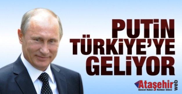 Putin 10 Ekim'de Türkiye'ye geliyor