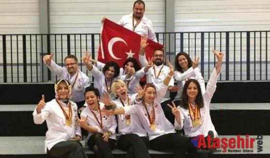 Türk aşçılar Erfurt'ta hünerlerini sergiledi