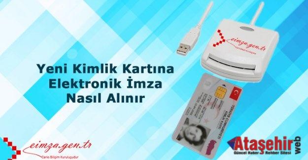 Yeni kimlik kartlarıyla e-imza sayısı 3 katına çıkacak