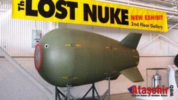 69 yıldır kayıp olan nükleer bomba bulunmuş olabilir