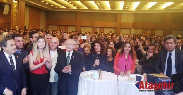 Kılıçdaroğlu Ataşehir'de Öğretmenlere Seslendi