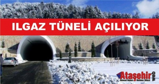 Ilgaz Tüneli 15 Aralık'ta açılıyor