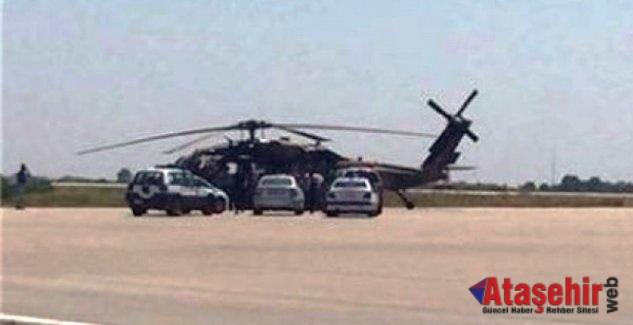 9 FETÖ'cü asker helikopterle Türkiye'ye gönderildi