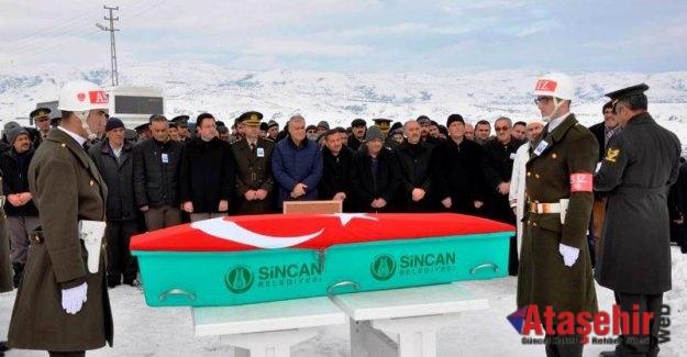 Kore Gazisi Ali Öz  Çankırı'da Son Yolculuğuna  Uğurlandı