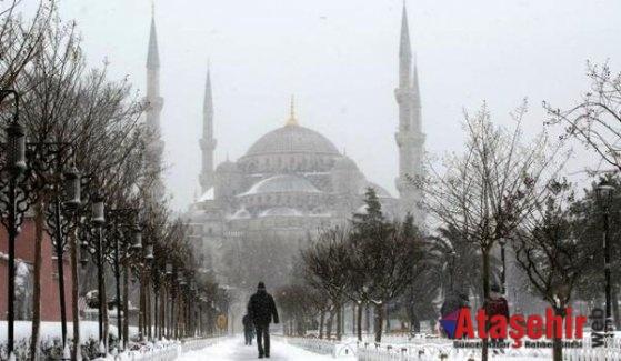 Soğuk hava Avrupa'yı vurdu
