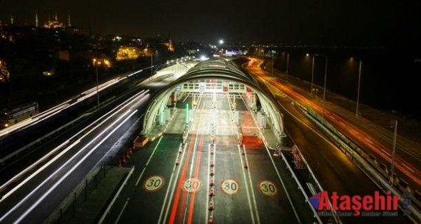 """Avrasya Tüneli İstanbul'un Yeni """"Çekim"""" Merkezi"""
