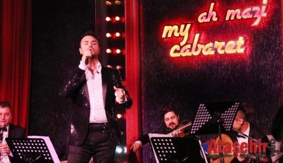 """CENK YÜKSEL İLE """"AH MAZİ"""" BY MY CABARET'TE ESKİ GAZİNO GECELERİ"""