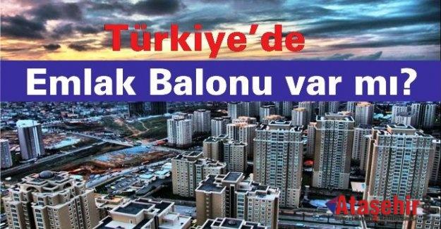 Türkiye'de Emlak Balonu var mı?
