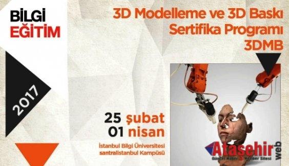 Üç Boyutlu Modelleme ve Baskı Sertifika Programı