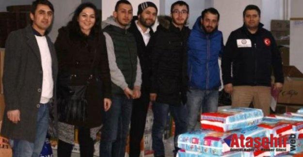 Zonguldak Dernekleri Federasyonun'dan Çanakkale'ye yardım