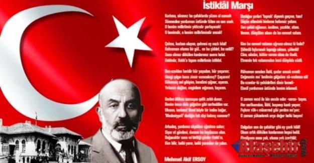 İstiklal Marşının Kabulü, Mehmet Akif Ersoy
