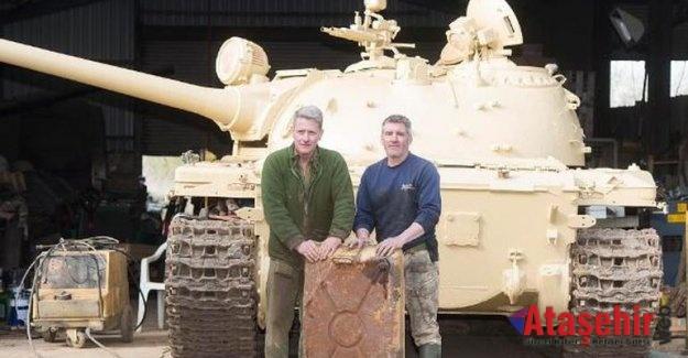 Aldığı Rus Tankı'nın deposundan külçe külçe altın çıktı