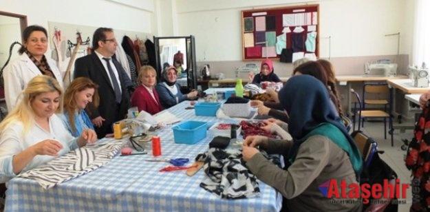 Ataşehir Halk Eğitim Merkezinde  639 kursata 14.085 kursiyer var