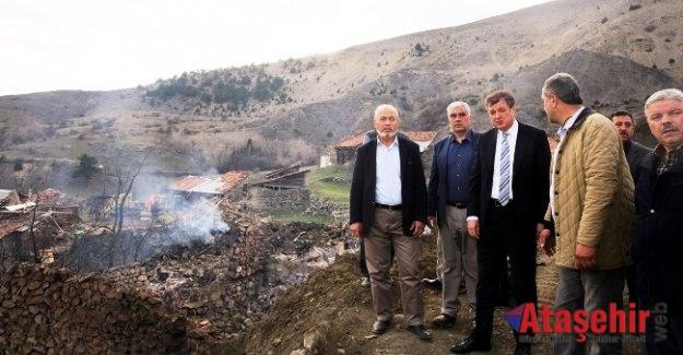 Rektör Ayrancı Serçeler Köyünün Üzüntüsüne Ortak Oldu