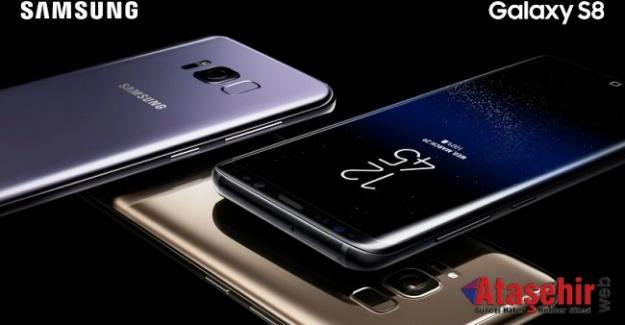 Samsung Galaxy S8, Dünya ile aynı anda Türkiye'de satışta