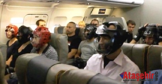 Uçağa Yolcular bu kez 'hazırlıklı bindi
