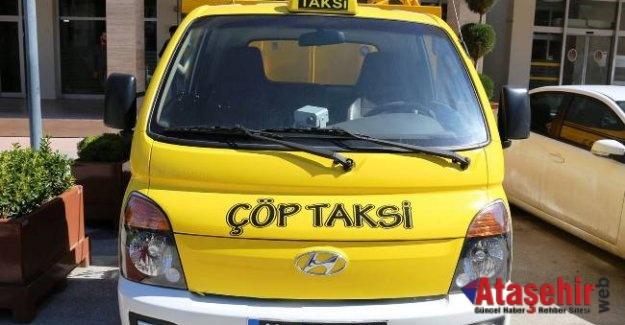 """Çankırı'da Dar Sokaklar İçin """"Çöp Taksi"""" Dönemi Başlıyor"""