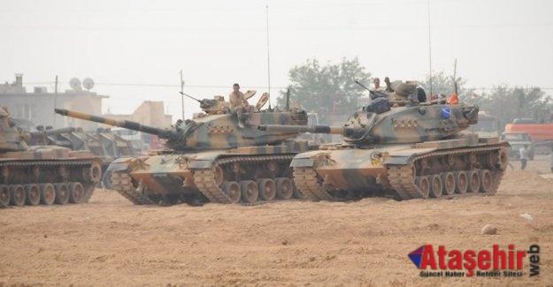 Türkiye ve ÖSO, Afrin operasyonu için son hazırlıklarını yapıyor