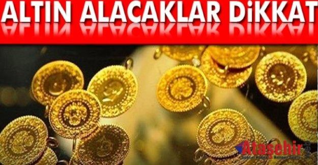 Altının Gram Fiyatı 165 Lira olabilir.