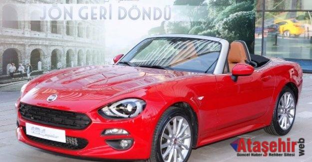 Fiat 124 Spider Ankara'da Tanıtıldı