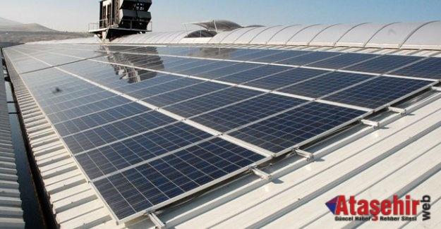 Çatıya Kurulacak Güneş paneli için izin aranmayacak!