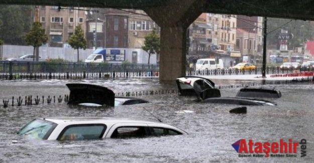 İstanbul Sele Teslim 'Son 32 yılın en yoğun yağışı'