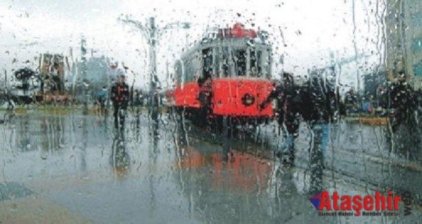 İstanbullular Sağanak yağış geliyor