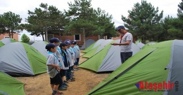 İzci Kampı, öğrencilere kapılarını açtı