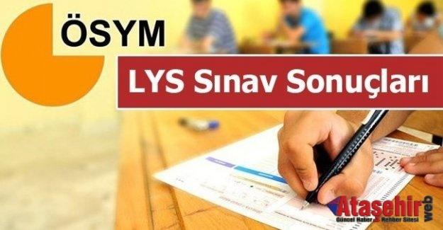 LYS, 2017 Sınav Sonuçlar açıklandı