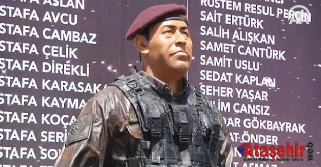 Ömer Halisdemir'in anısı Taksim'de yaşatılıyor