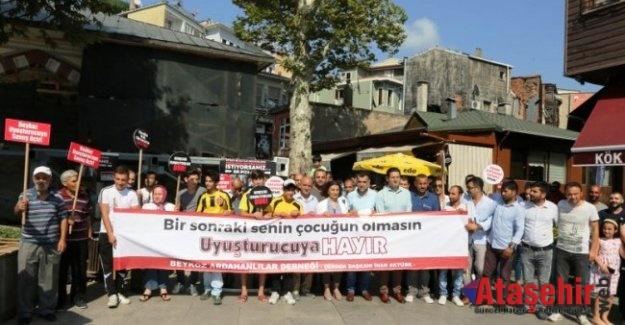 Beykoz'da Bağımlılıkla Mücadele Kampanyasına Rekor Katılım Sürüyor