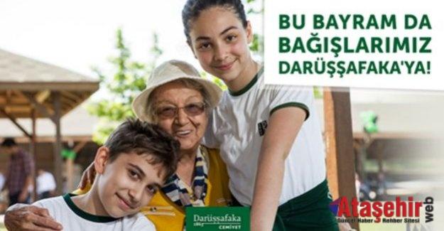 Bu bayram Darüşşafaka'ya destek olun