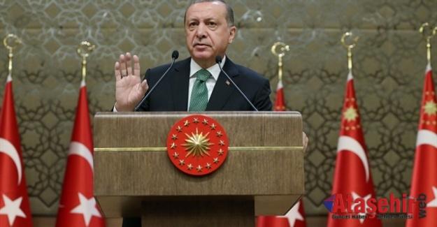 Cumhurbaşkanı Tayyip Erdoğan'dan bayram mesajı