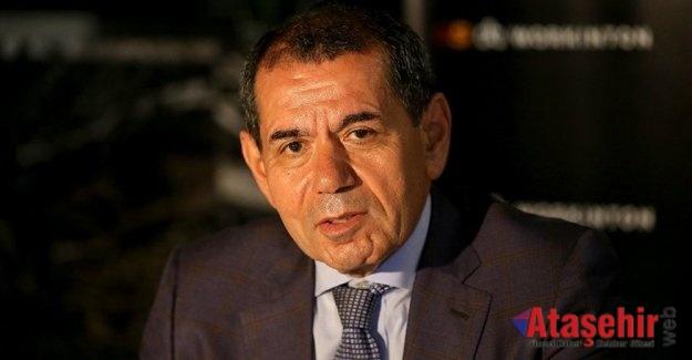 Dursun Özbek Kulüpler Birliği Başkanı seçildi.