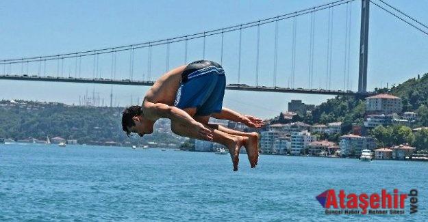 İstanbul'da hava 43 dereceye kadar çıkacak