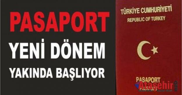 Pasaport işlemlerinde yeni dönem başlıyor