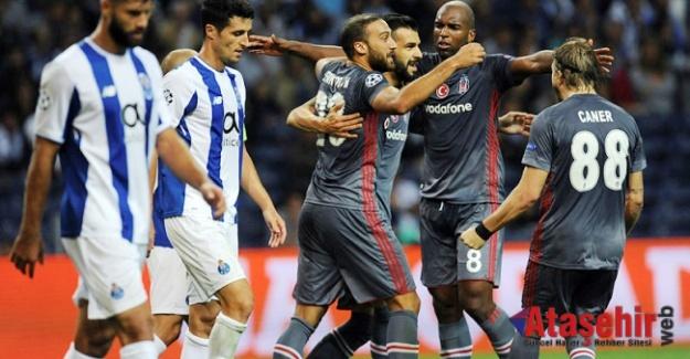 Beşiktaş Porto'yu 3 - 1 Yendi