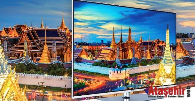 Vestel,  çerçevesiz ultra ince LED TV'sini IFA'da tanıttı