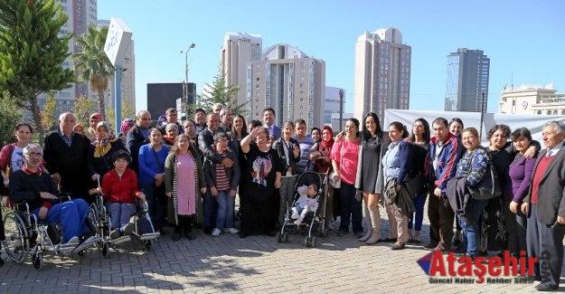 Ataşehir'de Engelliler Kahvaltıda buluştu
