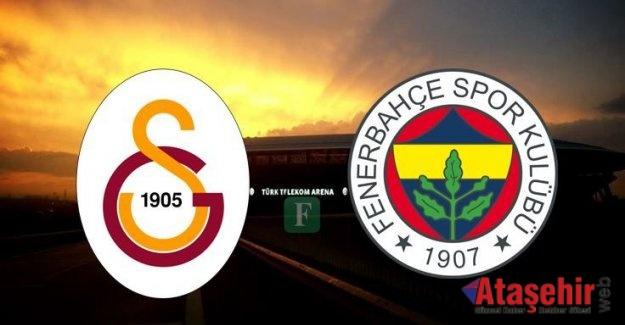 Galatasaray-Fenerbahçe maçı ne zaman saat kaçta?