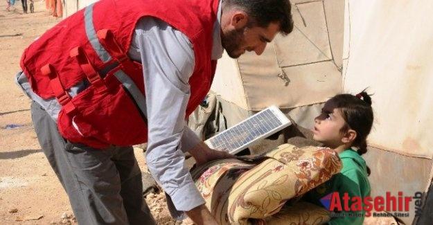Kızılay, İdlib'te tüm insani yardım önlemlerini aldı