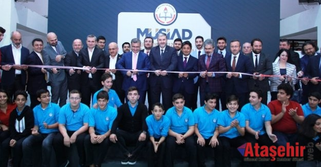 MÜSİAD Perakende ve Pazarlama Mesleki ve Teknik Anadolu Lisesi açıldı