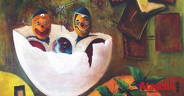 """Sedat Kumova'nın """"Memories / Hatıralar"""" adlı kişisel resim sergisi"""