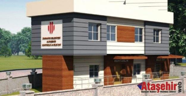 Ümraniye'de Muhtarlık binaları yenileniyor