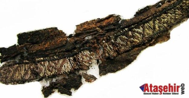 """Viking mezarlarında üzerinde """"Allah"""" ve """"Ali"""" yazan kumaşlar bulundu"""