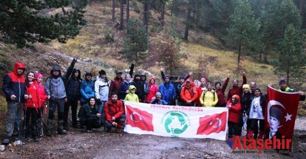 XIII. Geleneksel Ilgaz Dağı Küçükhacet Cumhuriyet Tırmanışı Gerçekleşti
