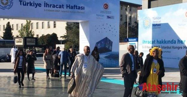 İhracat Haftasında, 66 ülkeden 700 alıcı 5 bin Türk şirketiyle buluştu