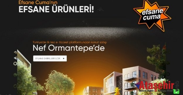 Türkiye'de bir ilk: Hepsiburada, Nef iş birliğiyle tüm konutları sattı